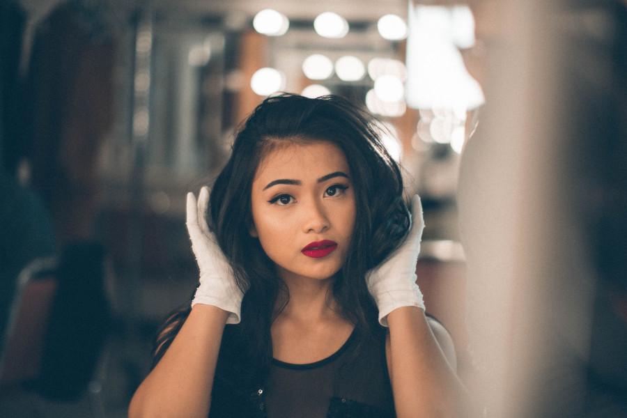 Asian american girls ass
